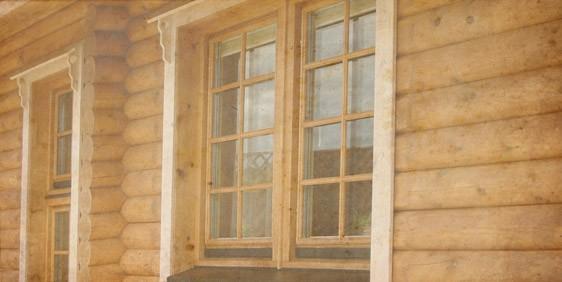 Case din bârne de lemn sau din lemn masiv